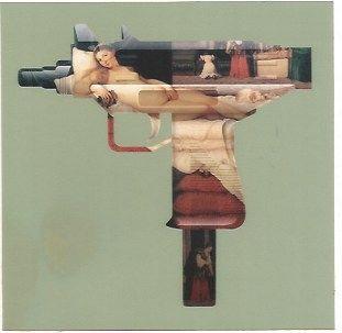 Serigrafia Gjoen - Machine Gun Venus