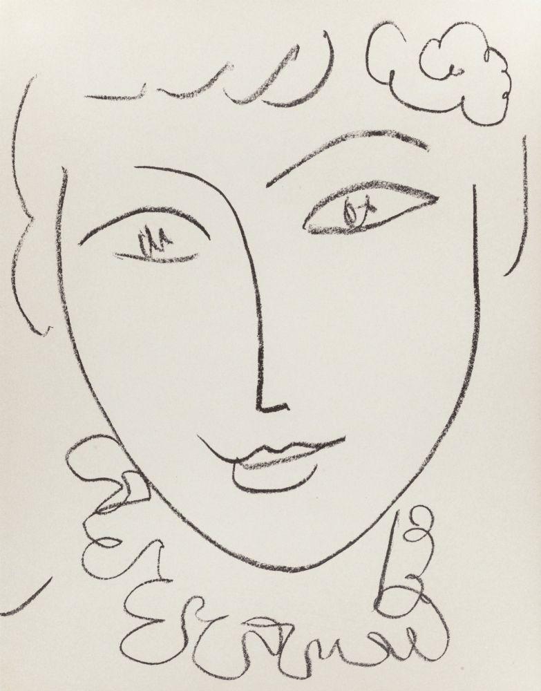 Litografia Matisse - Madame Pompadour