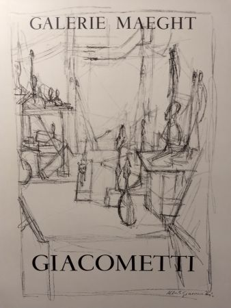 Manifesti Giacometti - Maeght