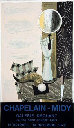Litografia Chapelain-Midy - Magie Blanche Galerie Drouant