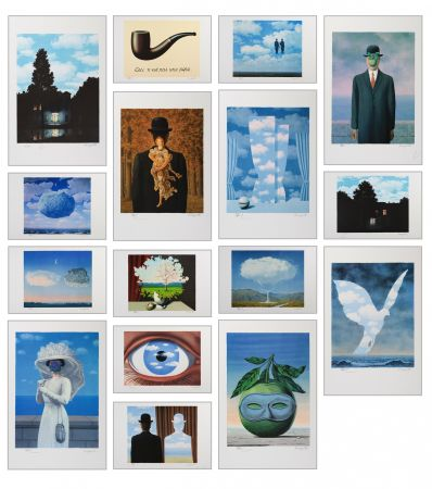 Litografia Magritte - Magritte Lithographies Vi