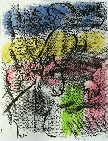 Litografia Chagall - Mai 1970
