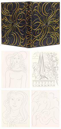Libro Illustrato Matisse - MALLARMÉ. POÉSIES. Eaux-fortes originales de Henri Matisse (1932). Reliure de Paul Bonet.
