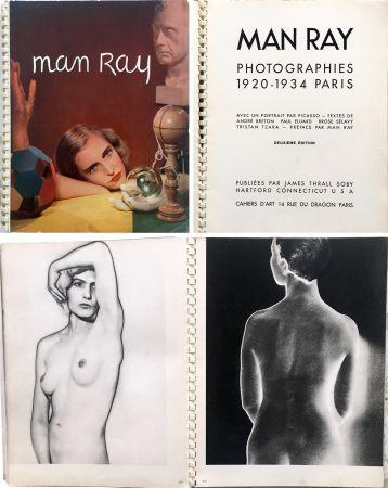 Libro Illustrato Ray - MAN RAY PHOTOGRAPHIES 1920-1934.