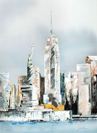Litografia Spahn - Manhattan