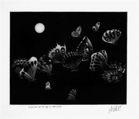 Maniera Nera Avati - Manière noire au 13 papillons (1964)