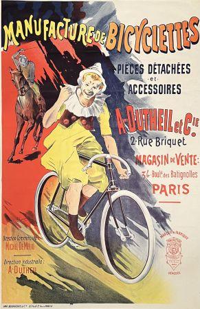 Litografia Corrois - Manufacture de Bicyclettes