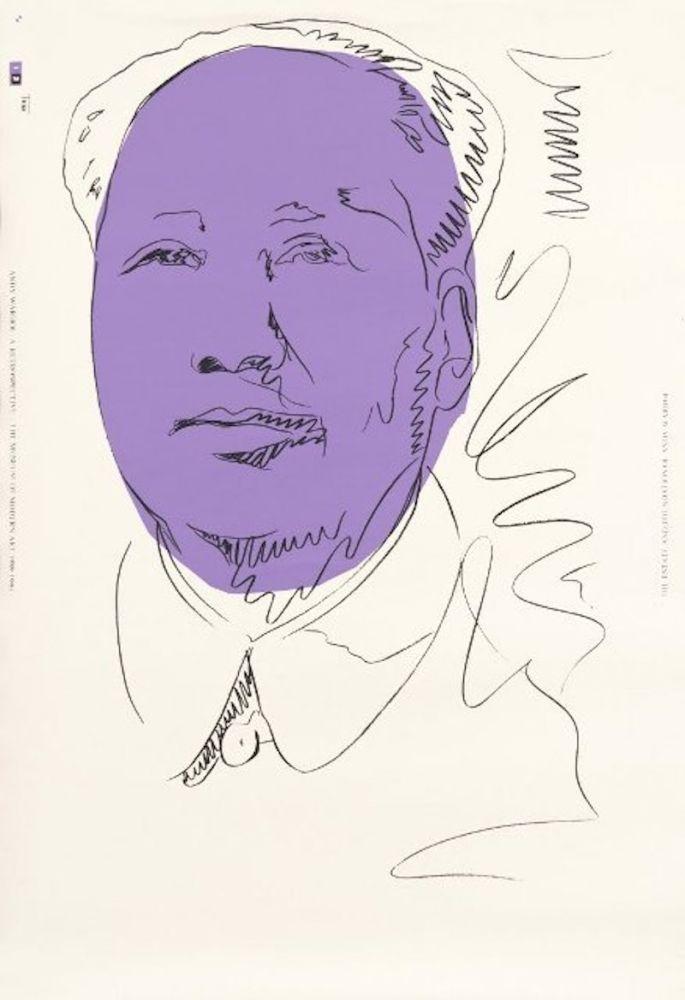 Serigrafia Warhol - Mao