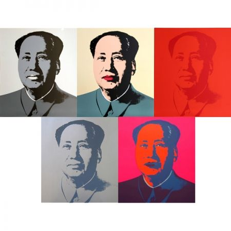 Serigrafia Warhol (After) - Mao - Portfolio