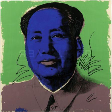 Serigrafia Warhol - Mao (Fs Ii.90)