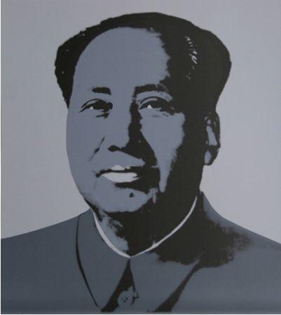 Serigrafia Warhol (After) - Mao Silkscreen Prints (by Sunday B. Morning)