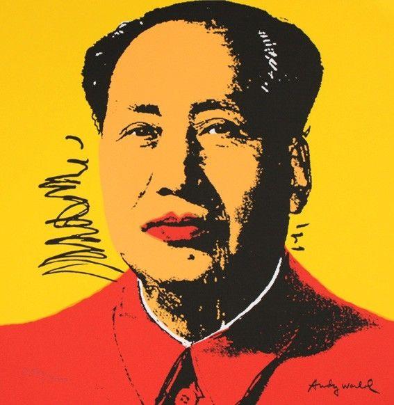 Serigrafia Warhol - Mao Zedong