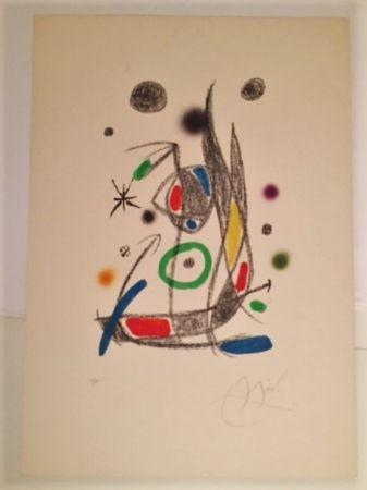 Litografia Miró - Maravillas con Varaciones Acrosticas