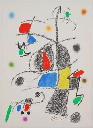 Litografia Miró - Maravillas con variaciones