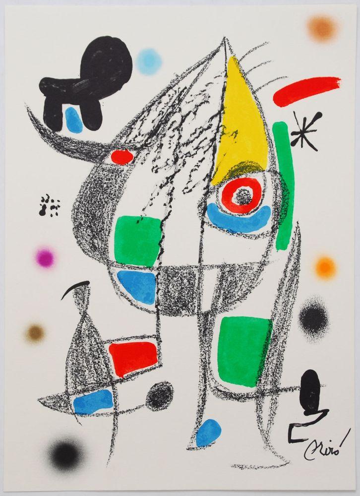 Litografia Miró - Maravillas Con Variaciones Acrósticas En El Jardín De Miró