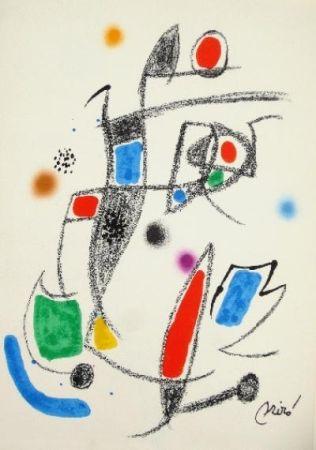 Litografia Miró - Maravillas con variaciones acrósticas en el jardín de Miró - 10
