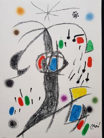 Litografia Miró - Maravillas con variaciones acrósticas en el jardín de Miró - 19