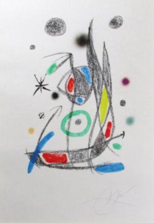 Litografia Miró - Maravillas Con Variaciones Acrósticas En El Jardín De Miró - Plate 14