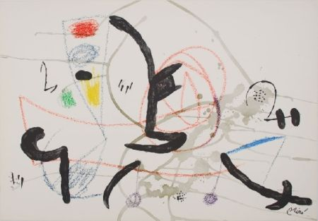 Litografia Miró - Maravillas con variaciones acrosticas 11