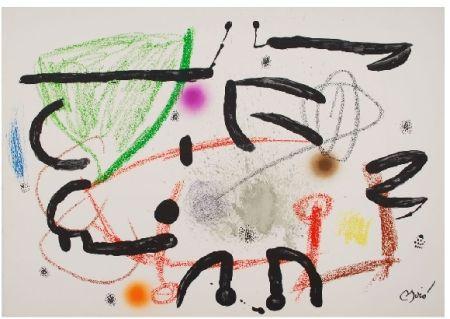 Litografia Miró - Maravillas con variaciones acrosticas 15