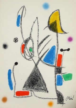 Litografia Miró - Maravillas con variaciones acrosticas 16