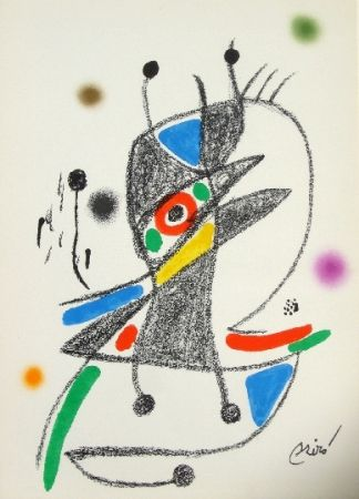 Litografia Miró - Maravillas con variaciones acrosticas 2