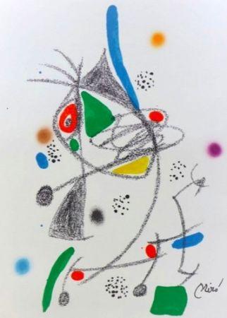 Litografia Miró - Maravillas con variaciones acrosticas 4
