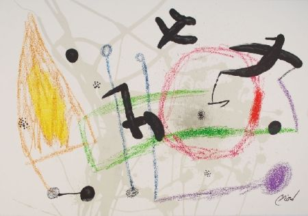 Litografia Miró - Maravillas con variaciones acrosticas 5