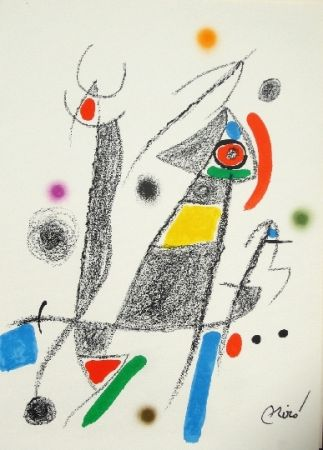 Litografia Miró - Maravillas con variaciones acrosticas 6