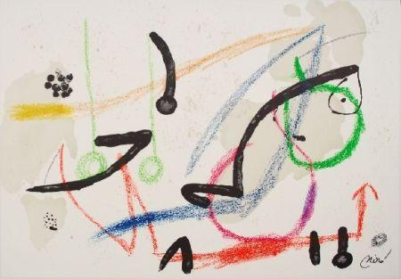 Litografia Miró - Maravillas con variaciones acrosticas 7