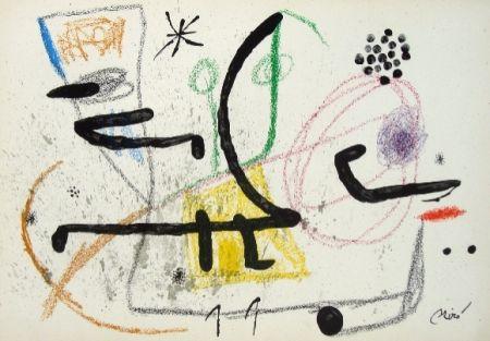Litografia Miró - Maravillas con variaciones acrosticas 9