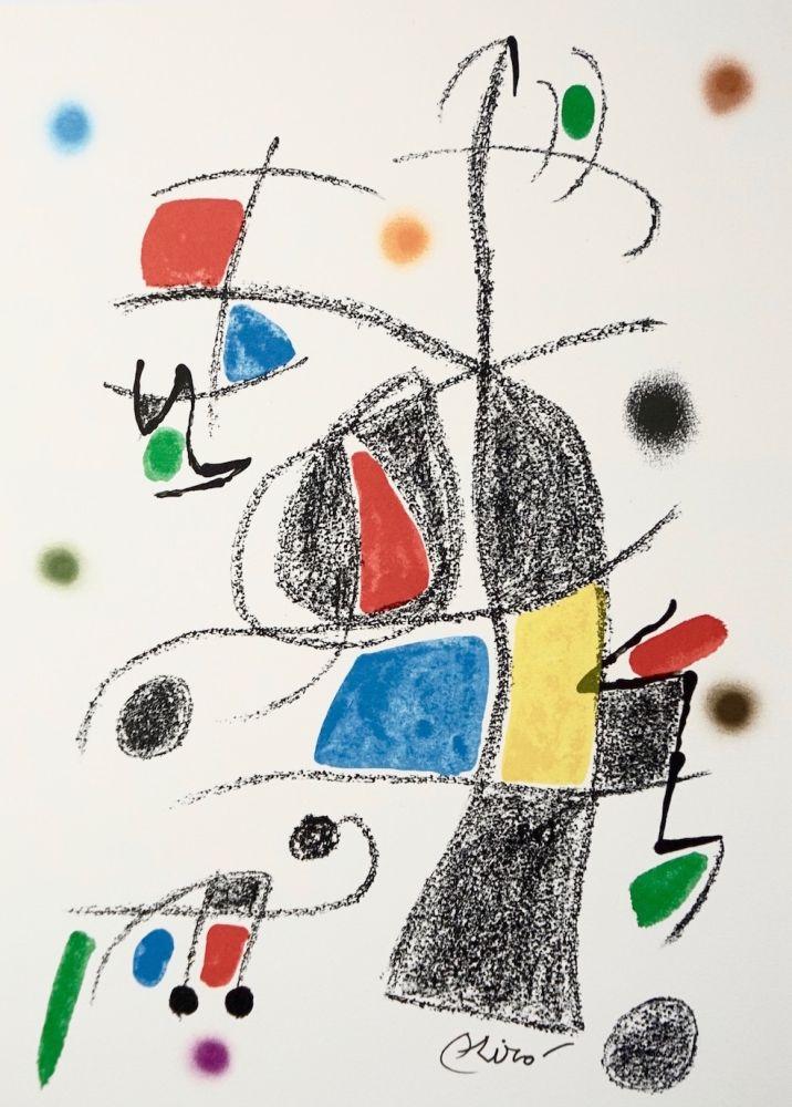 Litografia Miró - Maravillascon variaciones arcrosticas17