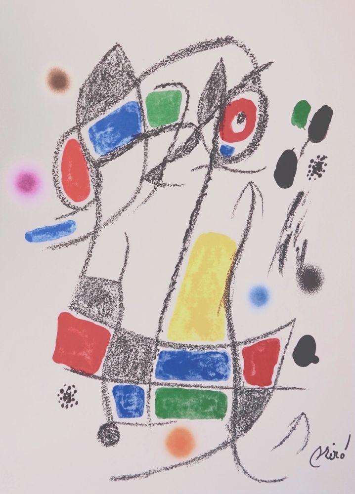 Litografia Miró - Maravillascon variaciones arcrosticas n°1