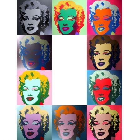 Serigrafia Warhol (After) - Marilyn - Portfolio