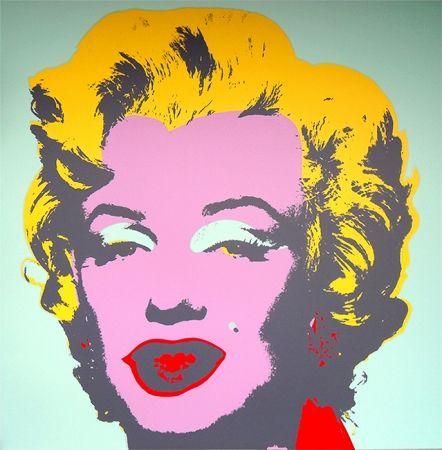 Serigrafia Warhol (After) - Marilyn 11.23