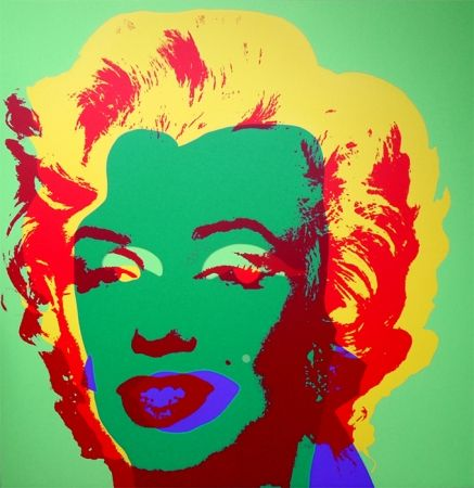 Serigrafia Warhol (After) - Marilyn 11.25