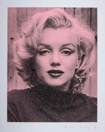 Serigrafia Young - Marilyn Hollywood - Superstar Pink