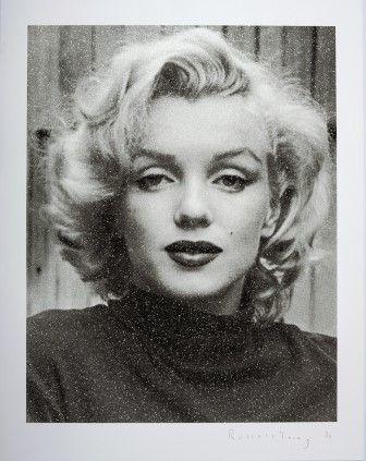 Serigrafia Young - Marilyn Hollywood (Black & White)