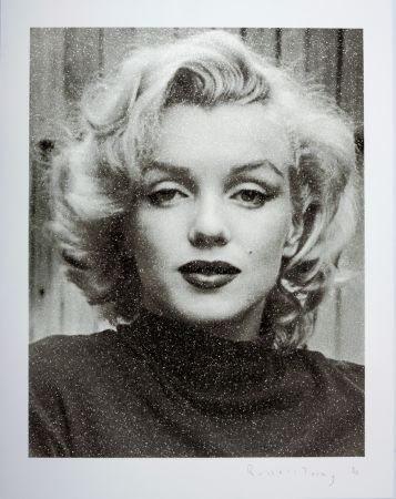 Serigrafia Young - Marilyn Hollywood B+W