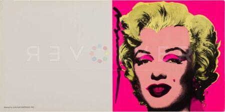 Serigrafia Warhol - Marilyn Invitation (Castelli Graphics)