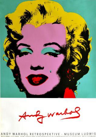 Manifesti Warhol - Marilyn Monroe