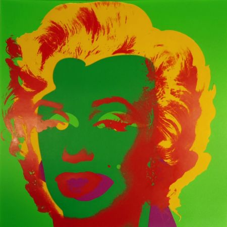 Serigrafia Warhol - Marilyn Monroe