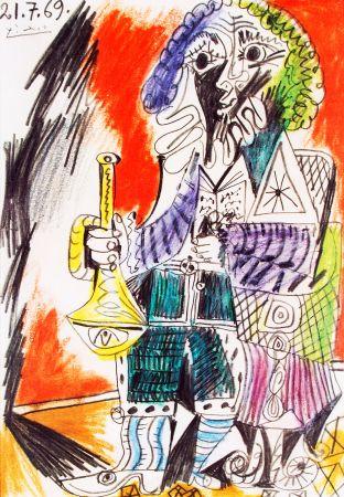 Litografia Picasso - Marlborough - Saidenberg , New York  Huge