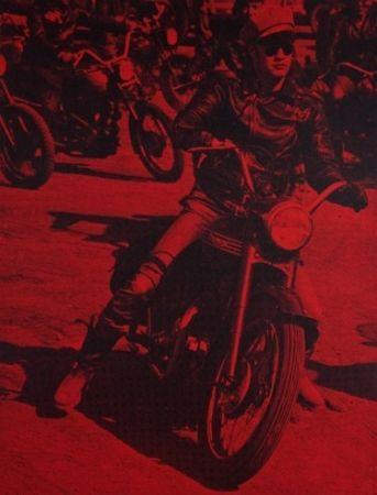 Serigrafia Young - Marlon Brando (Bike)