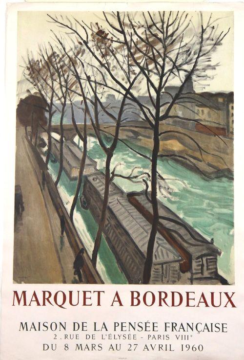 Litografia Marquet - Marquet à Bordeaux