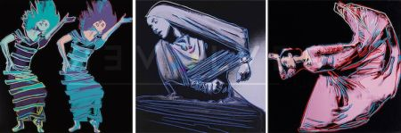 Serigrafia Warhol - Martha Graham Complete Portfolio (Fs Ii.387-389)