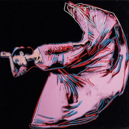 Serigrafia Warhol - Martha Graham, Letter to the World (The Kick) (FS II.389)