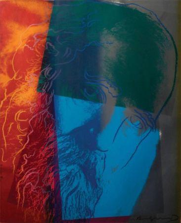 Serigrafia Warhol - Martin Buber (FS II.228) Trial Proof