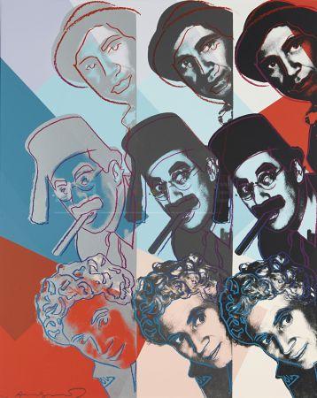 Serigrafia Warhol - Marx Brothers (Fs Ii.232)