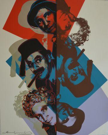 Serigrafia Warhol - Marx Brothers (FS II232) Trial Proof